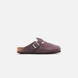Kith for Birkenstock Boston Shearling Rabbit - Gray / Natural
