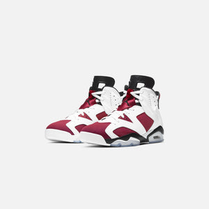 Nike Air Jordan 6 Retro - White / Carmine / Black