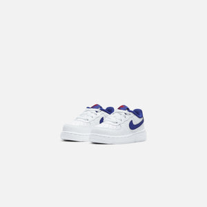 Nike Air Force 1 - White / Deep Royal / Blue University