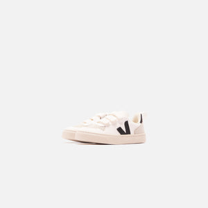 Veja Junior V10 Velcro - White / Black