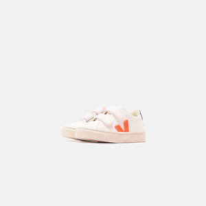 Veja Kids Esplar Velcro - White / Orange / Cobalt