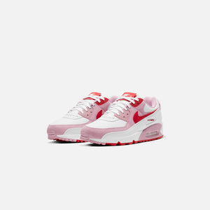 Nike WMNS Air Max 90 QS - White / University Red / Tulip Pink