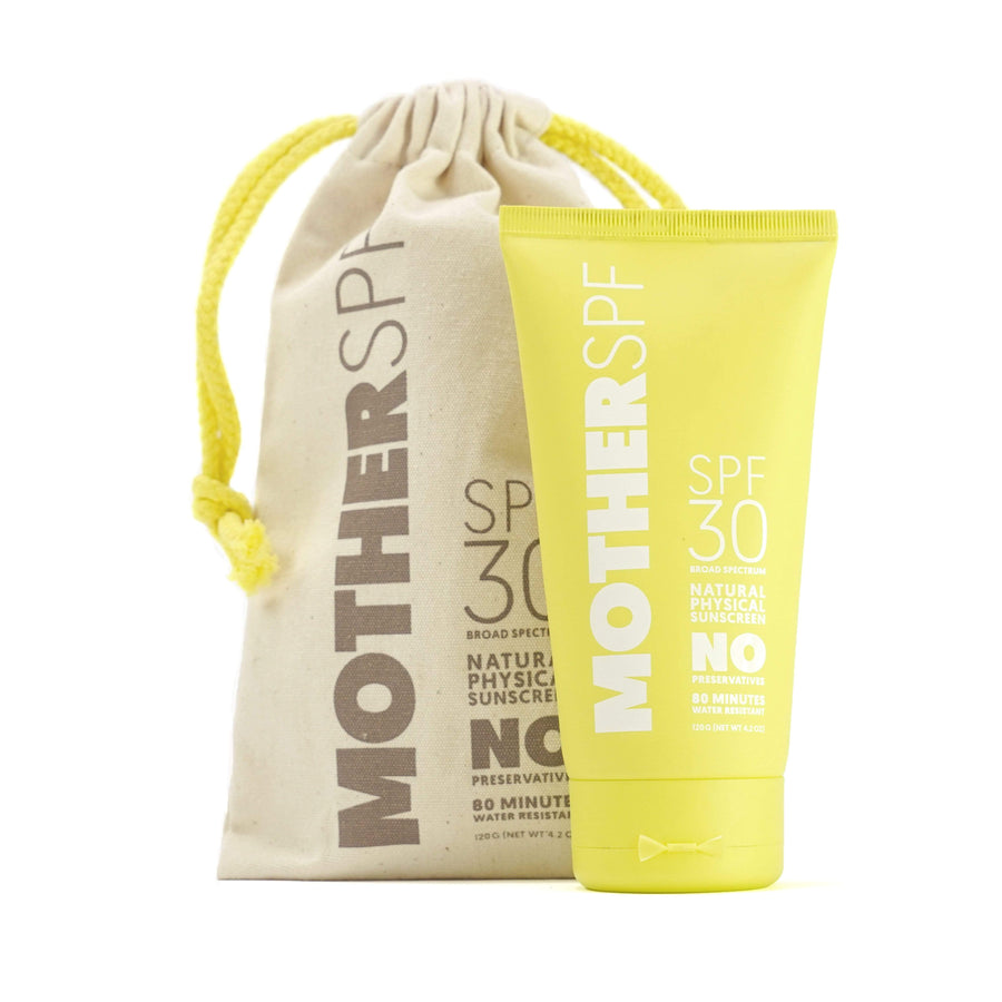 motherSPF natural sunscreen.
