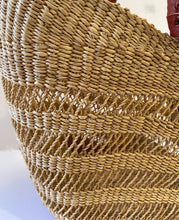 "Load image into Gallery viewer, Saint -Tropez Style African Basket 18"" H by 21"" W"