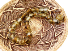 "Load image into Gallery viewer, African Lg GlassTrading Beads Necklace 27"" H"