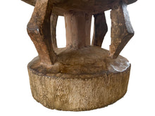 "Load image into Gallery viewer, African Old Milk Stool Hehe Gogo People Tanzania 11.5"" H"