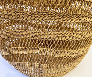 "Saint -Tropez Style African Basket 18"" H by 21"" W"