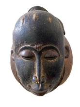 Load image into Gallery viewer, Superb /Rare Baule Portrait Mask Mblo/Kpan  Cote d'Ivoire Africa