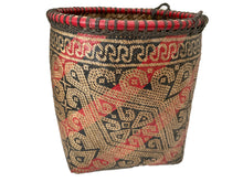 "Load image into Gallery viewer, Old Indonesian Sulawesi Basket 8.25 "" H"