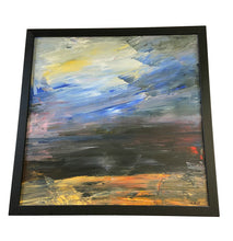 Load image into Gallery viewer, Abstract Acrylic on Canvas Framed / Signed Yjr #2185