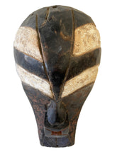 "Load image into Gallery viewer, Songye Kifwebe Mask Dr Congo African Bird Mask 17.5"" H"