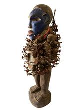"Load image into Gallery viewer, African Nkisi Fetish Power Figure 22.5"" H Congo"
