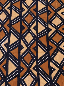 African Bogolan Mud Cloth Textile