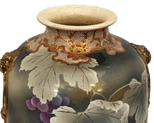 Load image into Gallery viewer, #3491 Antique Fine Satsuma Vase Meiji Period