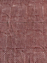 "Load image into Gallery viewer, Brown & White Mud Cloth Textile Mali 40.5"" by 64"" # 3391"