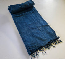 Load image into Gallery viewer, Plain Cotton Indigo Cloth - Mossi Tribe Burkina Faso