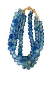 "Lg GlassTrading Beads Necklace 27"" H Set of 3"
