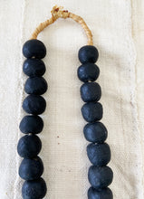 "Load image into Gallery viewer, African Jumbo GlassTrading Beads Necklace 28"" H"