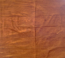 "Load image into Gallery viewer, African Plain Chocolate Brown Color Mud Cloth Textile Mali 66"" by 44"""