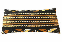 "Load image into Gallery viewer, Superb African Mud Cloth large  Long Pillow 28"" Lwx 6"" Whx 14""D # 1"