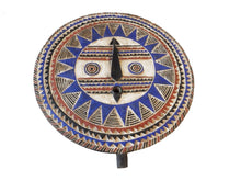 "Load image into Gallery viewer, Superb African LG  Baule Tribe Moon Mask I Coast  33.5"" H by 31' W"