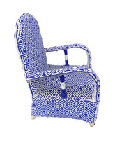 Load image into Gallery viewer, African  Nigerian LG Yoruba Glass Beaded Chair