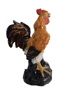 "Superb LG  Chinese Ceramic Figure of a  Rooster 17.5""H"