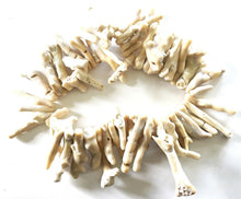 Load image into Gallery viewer, Superb Trade African Natural white Coral 56 Beads