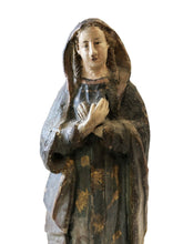 Load image into Gallery viewer, Rare 19th Century Terra-Cotta Figure of a Saint Philomena 7""