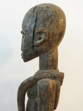 Load image into Gallery viewer, Stunning Old Lobi Shrine Male Figure Bateba 24.5 inch African Burkina Faso