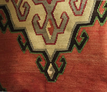 "Load image into Gallery viewer, Superb Custom Made Old Turkish  Tribal Kilim Pillow Cover 20"" by 20"""
