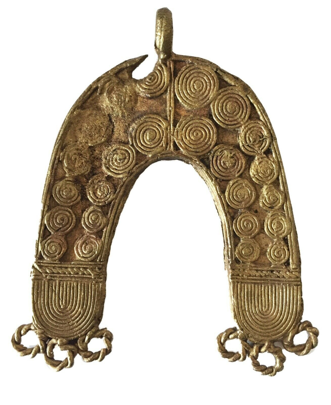 Lobi Bronze Amulet /Gold Weight Pendant 3