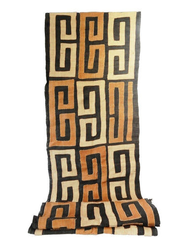 Superb  Kuba Cloth - Bushoong – DR Congo 106 Long by 21