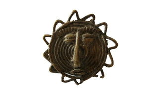 #2221 SUPERB African Gan Burkina faso bronze Ring