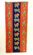 "Load image into Gallery viewer, Stunning african Yoruba Beaded Large Panel/Door Nigeria 69"" h"
