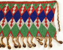 "Load image into Gallery viewer, Skirt Kirdi Beaded Cache Sex Pikuran Cameroon 17.75"" W"
