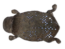 "Load image into Gallery viewer, Superb African Lobi Bronze Frog/ Gold Weight 5.75'"" W"