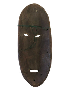 "Superb african Lega Democratic Republic of the Congo mask 10.5"" H"
