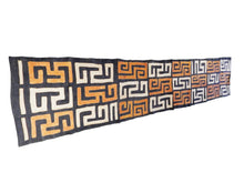 "Load image into Gallery viewer, Superb  Kuba Cloth - Bushoong – DR Congo 118"" Long by 22"" w"