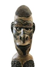 "Load image into Gallery viewer, Old Tribal Oceanic Papua-New Guinea Standing Ancestor Figure Sculpture 22"" H"