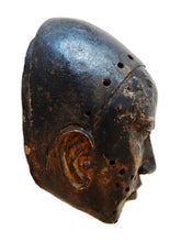 Load image into Gallery viewer, #H6 African Bamum Bronze head Mask Cameroon 11'H