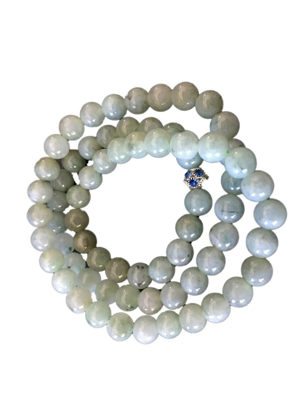 Superb  Jadeite Jade  Necklace 68 beads