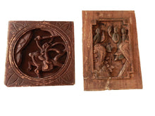 Load image into Gallery viewer, Antique Chinese wall hanging Plaques Panels  /W Figures Warriors