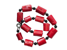 Load image into Gallery viewer, Superb Nepalese  Natural Red Coral  Beads Necklace 13 beads