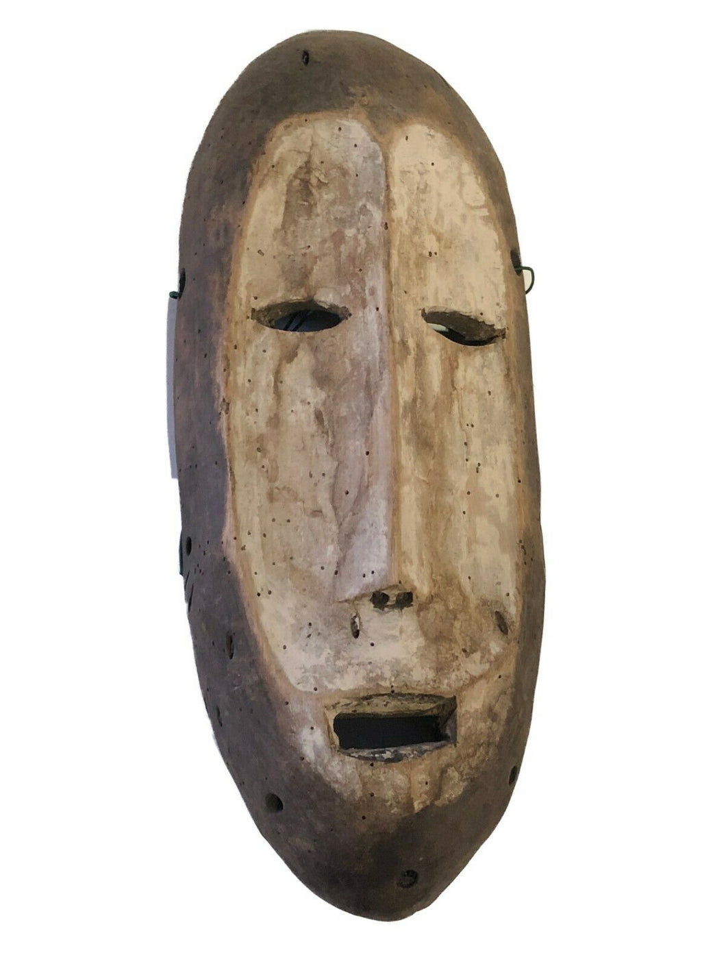 Superb african Lega Democratic Republic of the Congo mask 10.5