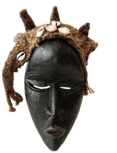 SUPERB AFRICAN   I. COAST DAN CEREMONIAL DANCE MASK