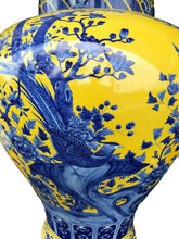 "Load image into Gallery viewer, Museum Quality Lg Chinese Famille Jaune Ginger Jars - a Pair 30.75"" H by 17.5"" D"