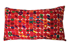 "Load image into Gallery viewer, Stunning Lg Custom Made  Embroidered Decorative Pillow 23.5"" w"