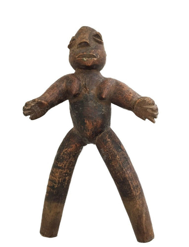Superb /unique old Lobi Figural Sling shot Burkina Faso African 7
