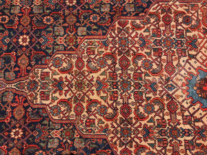 "Stunning 19th C Palace Size Fereghan Saruk  Rug 6' 9"" x 16'  9"""